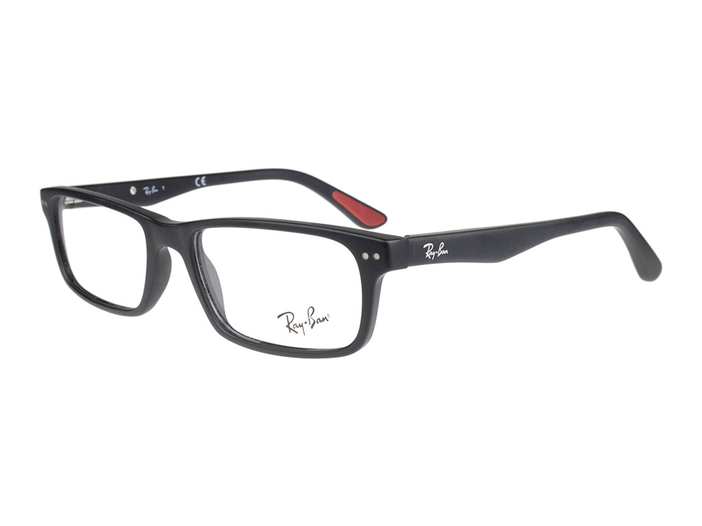 Ray-Ban RX5277 2077 52 Sandblasted Black