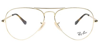 Ray-Ban Aviator RX6489 2500 55 Gold