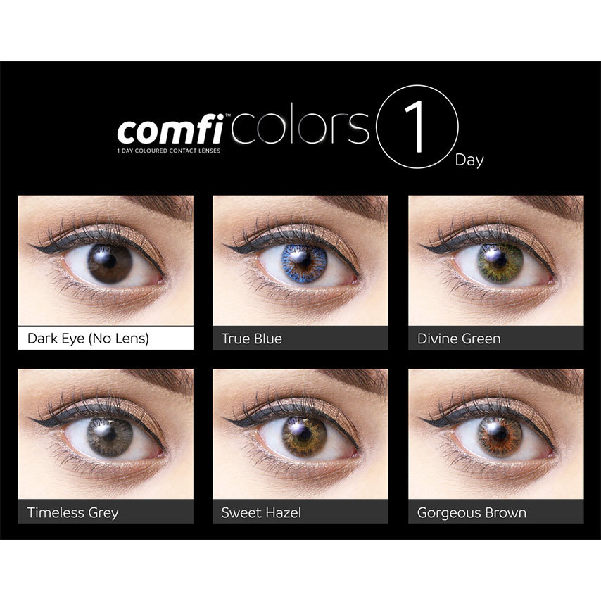 comfi colors 1 day eyes eyes