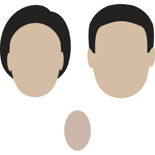 oval shaped face