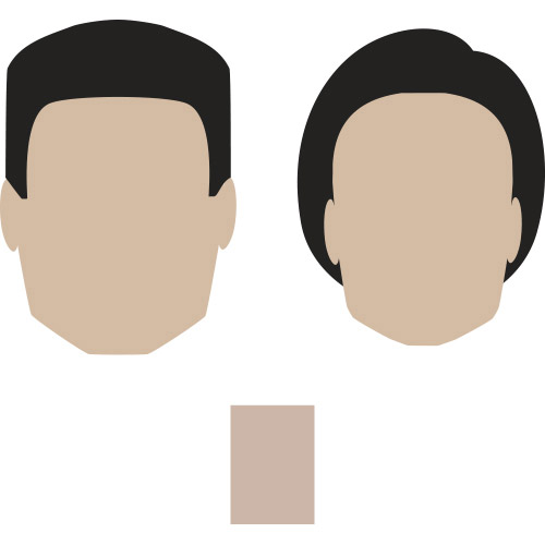 rectangle shaped face