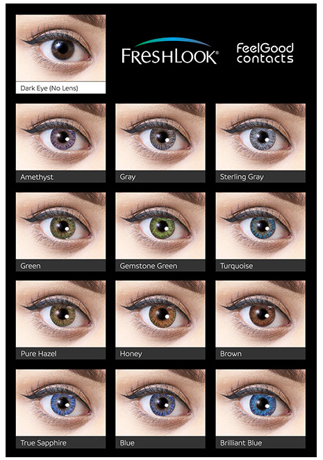 freshlook colorblends eyes