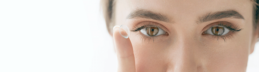 How to clean and store your contact lenses