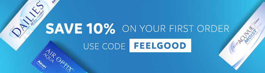 Feel Good Contacts 10 percent Offer