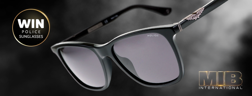 Chance To Win Brand-New Men In Black Sunglasses!