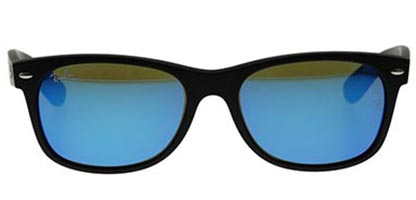 Ray-Ban RB2132 New Wayfarer Flash Matte Black 622/17