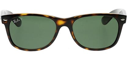 Ray-Ban RB2132 New Wayfarer Tortoise Large 902/58 Polarised