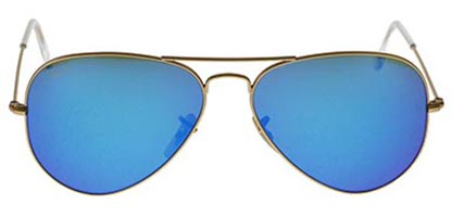 Ray-Ban RB3025 Aviator Gold Blue Flash 112/17