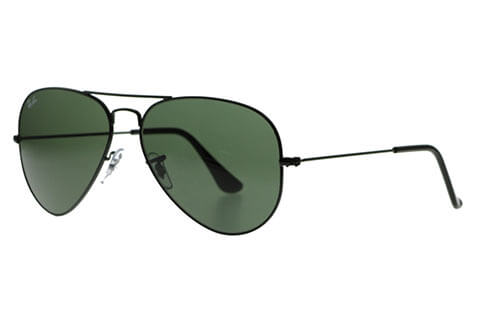 Ray-Ban RB3025 Aviator Black L2823
