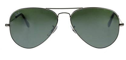 Ray-Ban RB3025 Aviator Silver W3277