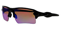 Oakley Flak 2.0 XL OO9188-05 Polished Black Prizm Golf