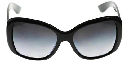 Prada PR 32PS Triangle Black 1AB5W1 Polarised