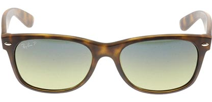 Ray-Ban RB2132 New Wayfarer Matte Havana Large 894/76 Polarised