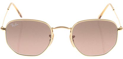 Ray-Ban RB3548N Hexagonal Gold Brown 912443
