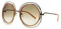 Chloe CE120S Carlina Gold Transparent Peach 724