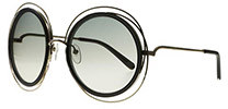 Chloe CE120S Carlina Gold Transparent Grey 731