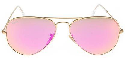 Ray-Ban RB3025 Aviator Gold Flash 112