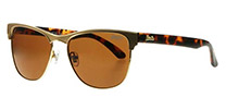 Superdry Roxanne 001 Matte Gold and Tortoise