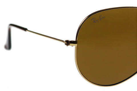 Ray-Ban RB3025 Aviator Gold Brown 001/33