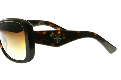 Prada PR 32PS Triangle Tortoise 2AU6S1
