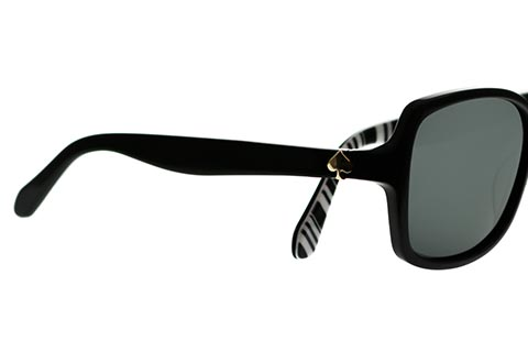 Kate Spade Ayleen/P/S Black and White QG9/RA Polarised