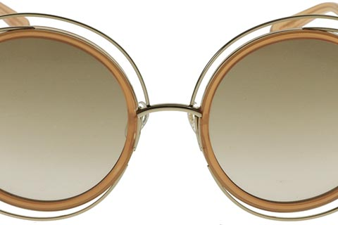 Chloe CE120S Carlina Gold Transparant Peach 724