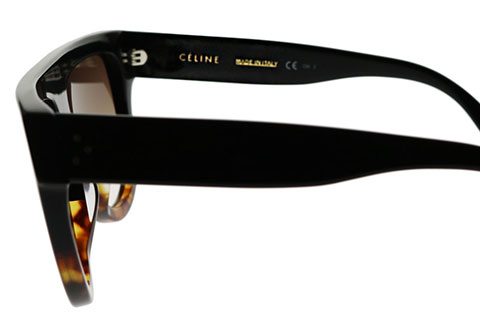 Celine Shadow CL 41026/S Black Tortoise FU5/5I