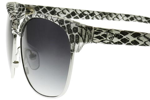 DVF 830S Zianna Black White 001