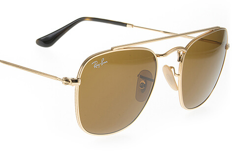 Ray-Ban RB3557 Gold Brown