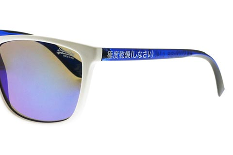 Superdry Shockwave 140 Matte White and Blue