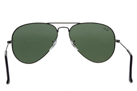 Ray-Ban RB3025 Aviator Gunmetal Green W0879