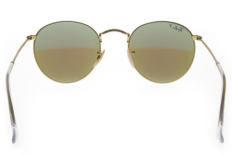 Ray-Ban RB3447 Round Flash Lenses 112