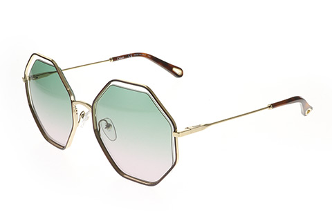 Chloe CE132S Poppy Havana Green Rose 240