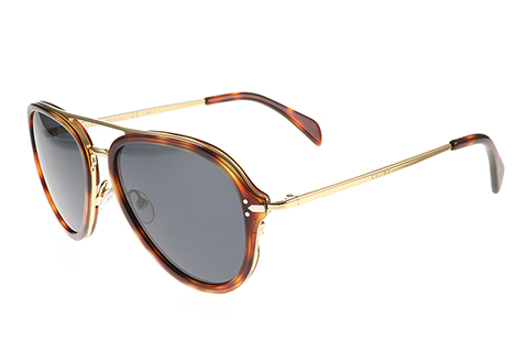 Celine Drop CL 41374/S Gold Havana 3UA/IR