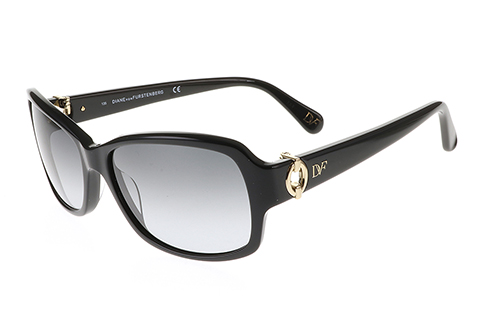 DVF 592S Faith Matte Black 001