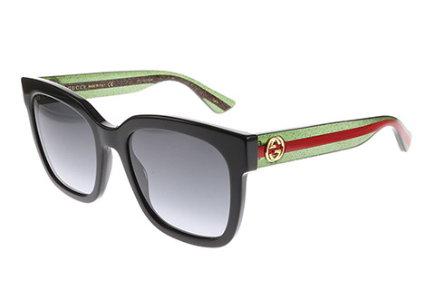 Gucci GG0034S Black Green 002