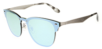 Ray-Ban RB3576N Blaze Clubmaster Silver Green 042/30