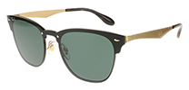 Ray-Ban RB3576N Blaze Clubmaster Brushed Gold 043/71 41