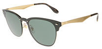 Ray-Ban RB3576N Blaze Clubmaster Brushed Gold 043/71 47