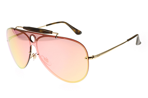 Ray-Ban RB3581N Blaze Shooter Gold Pink 001/E4