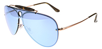 Ray-Ban RB3581N Blaze Shooter Copper Silver 90351U