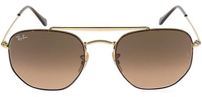 Ray-Ban RB3648 The Marshal Havana Gold Brown 910443