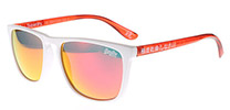 Superdry Shockwave 142 White and Red Crystal