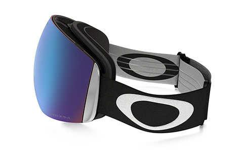 Oakley Flight Deck OO7050-20 Snow Goggles Matte Black Sapphire