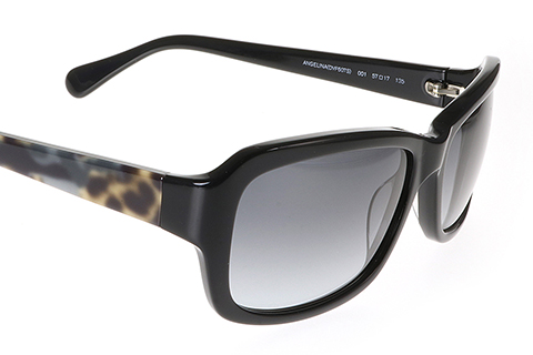 DVF 607S Angelina Black 001