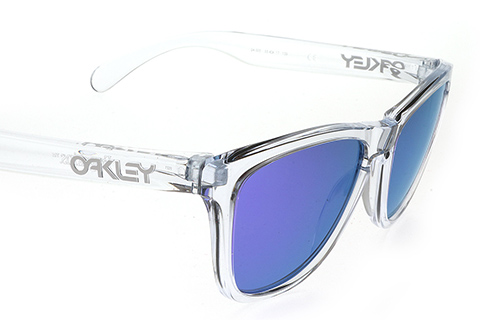Oakley Frogskins OO9013 24-305 Polished Crystal Violet