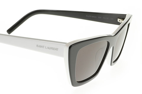 Saint Laurent SL 276 MICA 006 Black and White