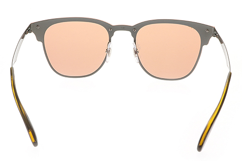 Ray-Ban RB3576N Blaze Clubmaster Dark Orange Mirror 90377J