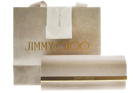 Jimmy Choo Raffy/S Grey Glitter QA8/9C