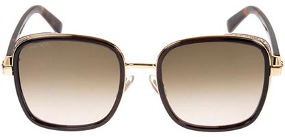 Jimmy Choo Elva/S Havana Gold FG4/HA